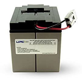 UPC RBC7 Replacement Battery Cartridge 30 Buy only Genuine UPC Products Sealed and leak-proof battery made in America Plug & Play with expected battery life of 3-5-years