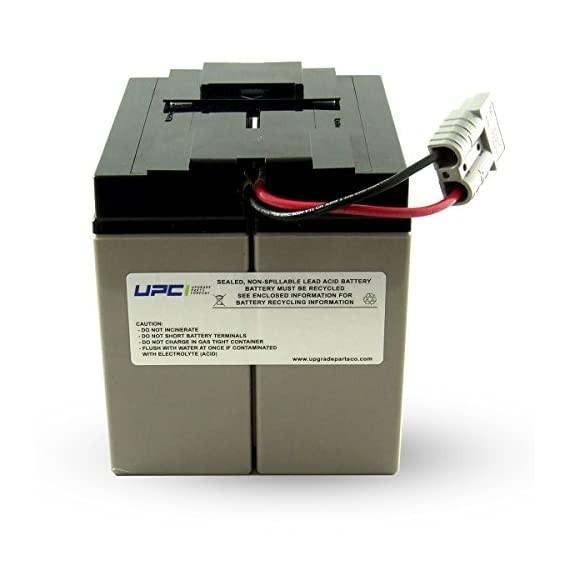 UPC RBC7 Replacement Battery Cartridge 1 Buy only Genuine UPC Products Sealed and leak-proof battery made in America Plug & Play with expected battery life of 3-5-years