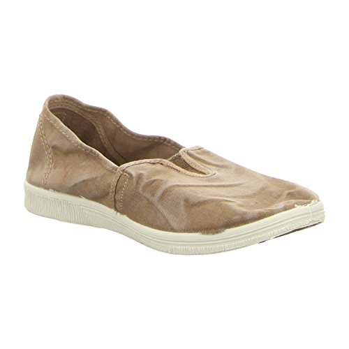 Natural World Damen Camping Schuhe Beige