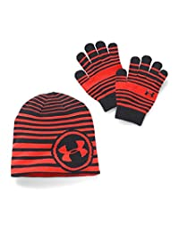 Under Armour Youth Reversible Beanie and Glove Combo Pack