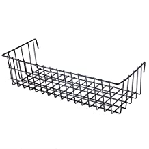 """Rumcent Multipurpose Grid Wall Storage Basket Holder, Industrial Style, Flower Pots Display, Creative Wall Decor Accessory,Size:15.4""""x 5.7"""" x 3.9"""""""