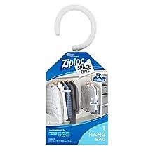 Ziploc Space Bag, Hanging Suit