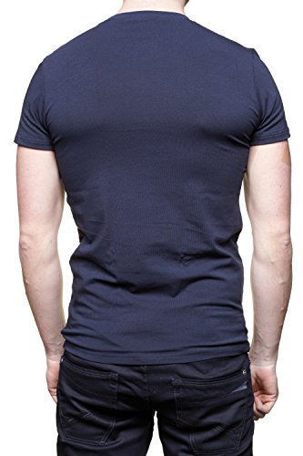 Guess - Camiseta - Cuello redondo - manga 3/4 - para hombre