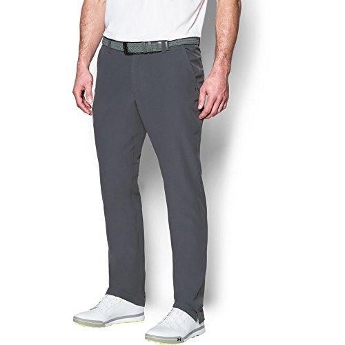 Under Armour Men's ColdGear Infrared Match Play Pants – Straight Leg, Rhino Gray/True Gray Heather, 34/32