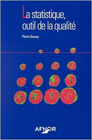 Téléchargement La statistique : outil de la qualité pdf, epub ebook