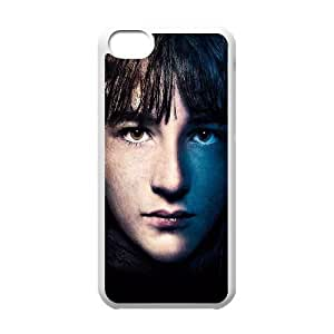 Game Of Thrones Bran Stark iPhone 5c Cell Phone Case White Delicate gift JIS_270144