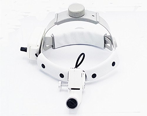 ENT Specific 5W LED Surgical Headlight Good Light Spot Converging DY-002 Size Adjustable White by Purple-Violet