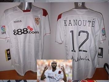 Sevilla kanoute Camiseta Jersey de Fútbol Adulto XL XXL Sevilla Mali África: Amazon.es: Deportes y aire libre