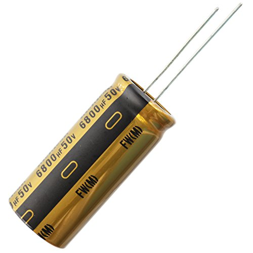Nichicon UFW Audio Grade Electrolytic Capacitor, 6800uF @ 50V, 20% Tolerance
