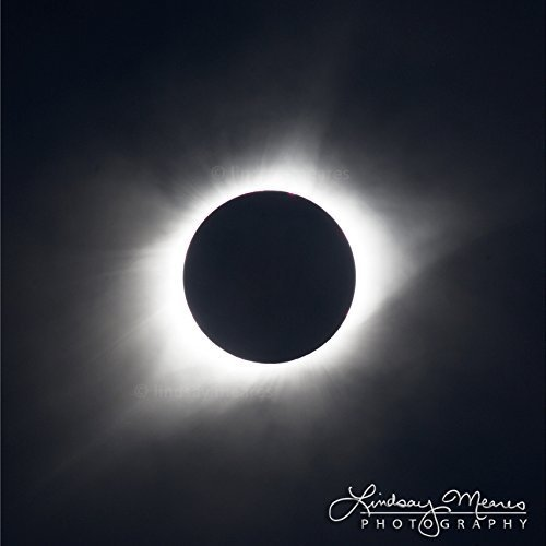 12x12 Square Solar Eclipse Print ''Totality'' by TravLin Photography by TravLin Photography