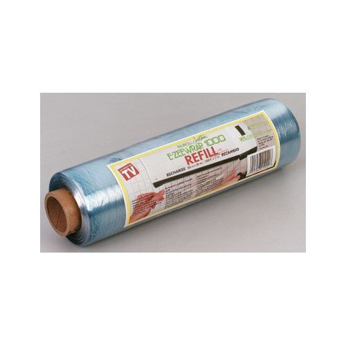 EZEE WRAP 1000 WRAP PLASTIC REFILL 1000-FT ROLL