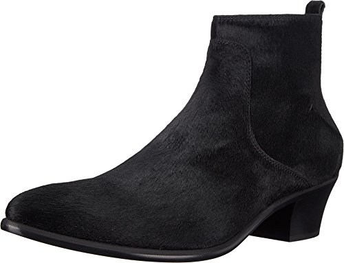 CoSTUME NATIONAL Men's Suede Ankle Boot Nero UK 8 D - (Mens Costume Boots Uk)