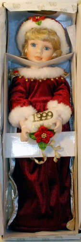 Heritage Signature Collection - 1999 Christmas Porcelain Doll