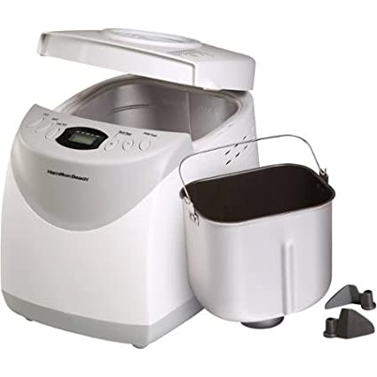 Hamilton Beach 2-lb Bread Machine Maker White