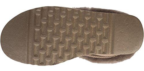 SNUGRUGS , Chaussons pour femme marron châtaigne 35.5 - gris - gris, 42 2/3