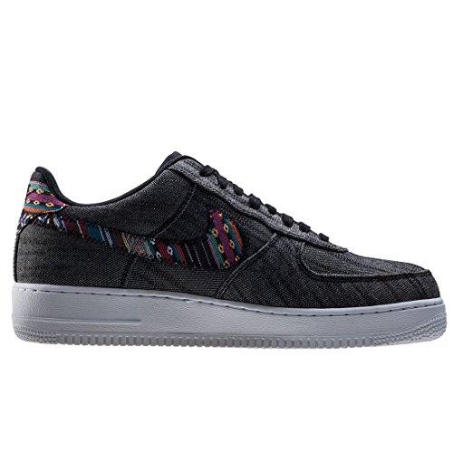 LV8 Uomo Nike Black Air 07 Force Sneakers 1 Nero Canvas White X6d6w
