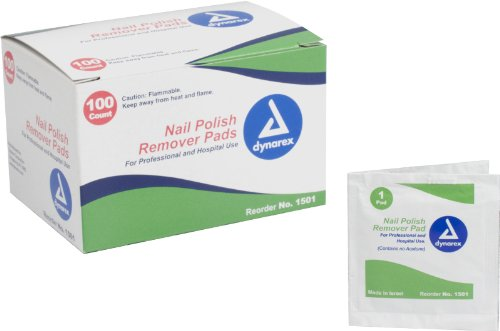 Nail Polish Remover Pads 1000/cs Case Pack 1000 by dolly2u