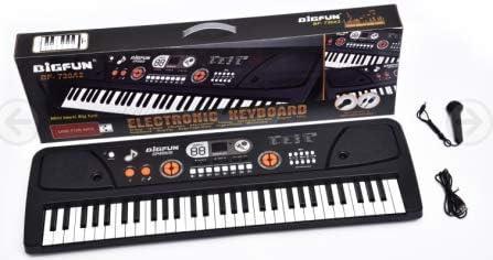 Teclado Electrónico, Teclado Piano Para Niños Portátil de 61 ...