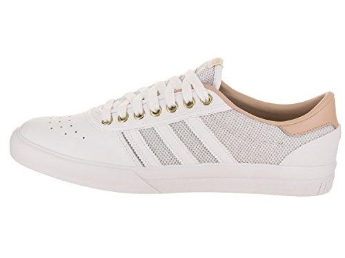 Adidas Heren Lucas Première Skate Schoen Wit / Ash Pearl / Gold Metallic