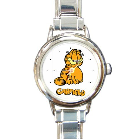 Garfield and Friends Round Italian Charm Watch