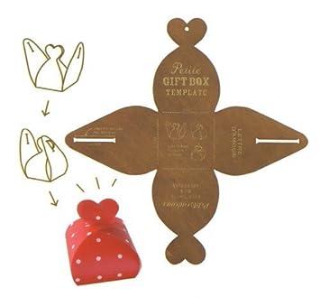 Decole Chocolat Fraise: Creative Geschenkbox Vorlage Formenbauer ...