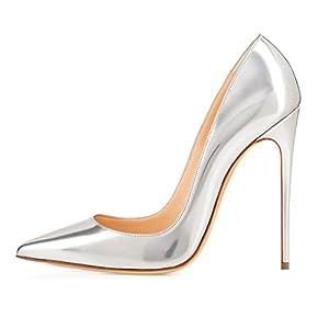 EDEFS – Scarpe col Tacco Donna – Classico High Heels Scarpe da Donna – Tacco a Spillo – 12CM Scarpe Donna