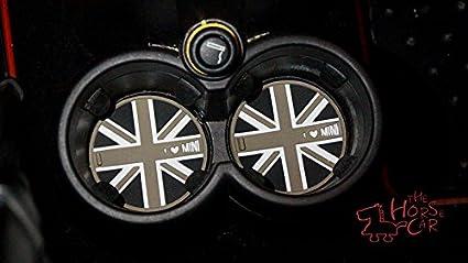 HDX 2 Soportes Antideslizantes para Botella de Agua para Mini Cooper F54 F55 F56 F57 F60 R55 R56 R57 R58 R59 R60 R61 Hardtop Clubman Hatchback Covertible Roadster Countryman