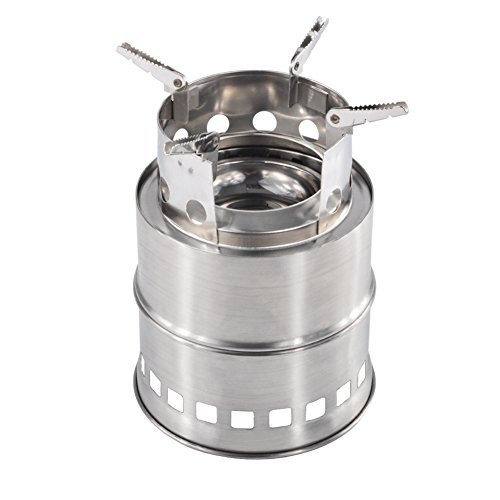 iRegro Portable Collapsible Stainless Backpacking product image