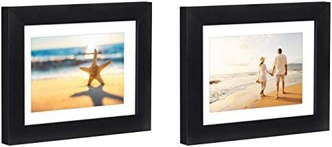 Dos imágenes Marcos de mesa, fabricado a la pantalla de tamaño 4 X ...