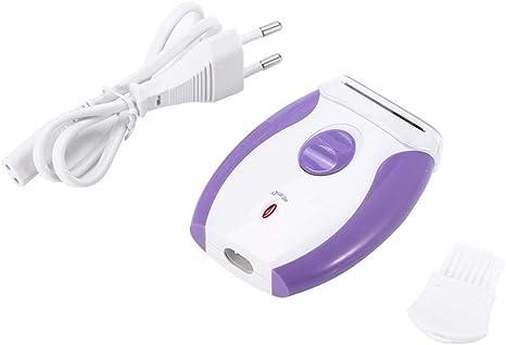 Depilación recargable para mujeres KEMEI, máquina afeitadora para afeitar las piernas de Lady Electric Body Epilator: Amazon.es: Belleza