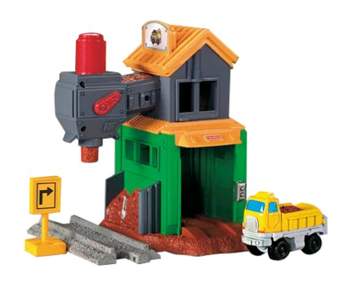 Fisher-Price GeoTrax Rail & Road System - Load 'em Up Gravel Co.
