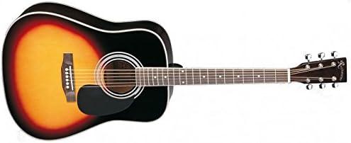 Rochester - Guitarra acústica A-80 VS Sunburst: Amazon.es ...