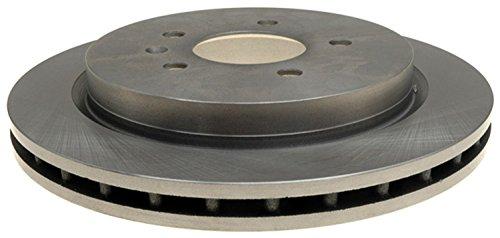ACDelco 18A1809A Advantage Non-Coated Rear Disc Brake Rotor
