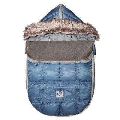 500 Le Sac Igloo Car Seat/ Stroller Blanket Size: Medium (6-18 months), Color: Denim