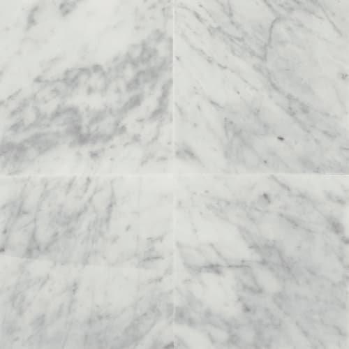 Dal-Tile M7011818X1L- Marble Tile, Carrara White Polished -  Dal - Tile