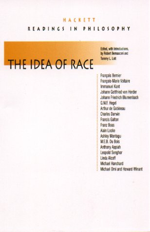 The Idea of Race (Hackett Publishing Co.)