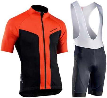 Hplights Hombres Ropa Ciclismo Equipacion de Bicicleta con 9D Gel ...