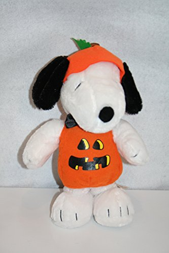 Peanuts Musical Animated Halloween Snoopy in Pumpkin Costume - Dances to Peanuts Song