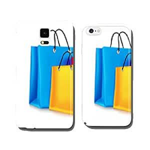Colorful Shopping Bags in White Background cell phone cover case iPhone6