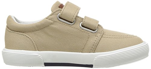 Polo Ralph Lauren Kids Boys' Faxon II Sneaker, Khaki Cotton, 10 M US Toddler by Polo Ralph Lauren (Image #7)