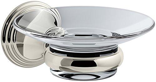 - KOHLER K-10560-SN Devonshire Soap Dish, Vibrant Polished Nickel
