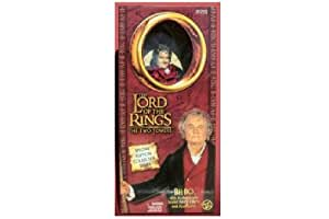 Lord of the Rings Two Towers 12 Inch Action Figure Bilbo by Toy Biz