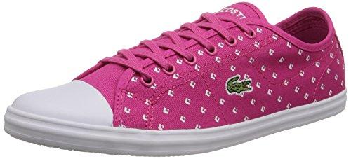 Lacoste Ziane Piq2 Fashion Sneaker Pink / White Para Mujer