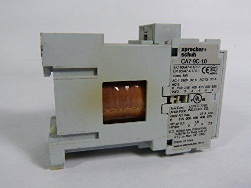 CA7-9C-10 Sprecher Schuh 3 Pole Sprecher+Schuh Contactor 24VDC