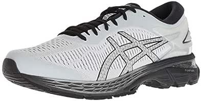 ASICS Gel-Kayano 25 Men's Running Shoe, Glacier Grey/Black, 7 D(M) US