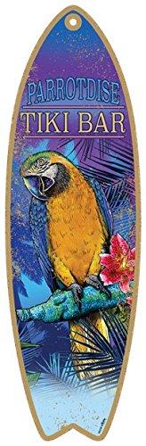 SJT ENTERPRISES, INC. ParrotDise Tiki Bar - with Picture of Parrot. 5