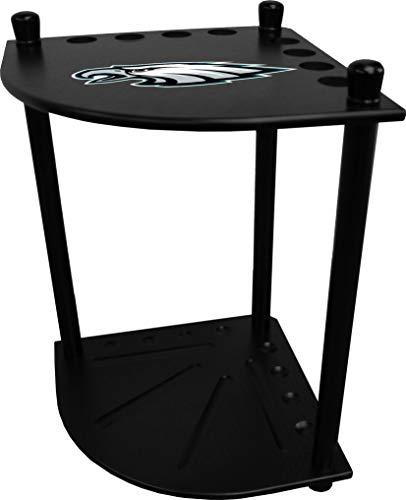 Imperial Officaly Licensed NFL Furniture: Corner Cue Rack, Philadelphia Eagles