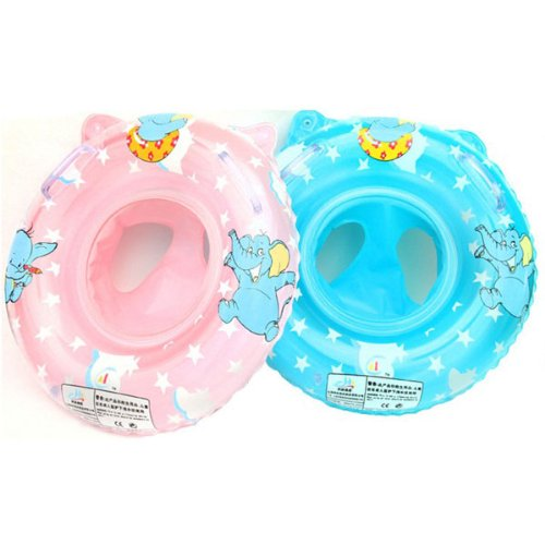 Amazon.com : KINGSO Baby Swimming Ring Armpits Ring Child Boat Double Thickening Blue : Baby
