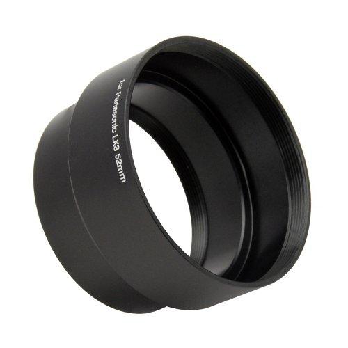 52mm Lens Adapter Tube for Original Panasonic Lumix Dmc-lx5 DMC Lx 5 Camera NEW