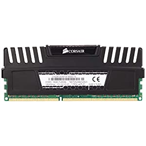 Corsair Vengeance 8GB, 1x8GB, DDR3 1600 MHz PC3 12800 Desktop Memory (CMZ8GX3M1A1600C10)